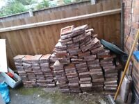 Old reclaimed quarry tiles approx 10 m2