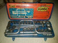 Vintage Elora Socket Set, Very Rare