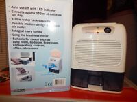 Small Humidifier ideal room or caravan ect; as new boxed, 25.