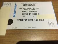 Liam Gallagher SSE Belfast standing 30-10-17 or swap