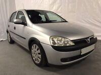 2003 Vauxhall Corsa 1.2i 16V Club 5dr *** FULL YEARS MOT ***