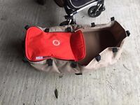 Bugaboo Cameleon 3 Buggy: seat, carrycot, carrycot apron, universal seat cover, raincover + canopy