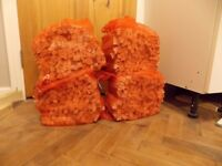 3Kg Bags of Dry chopped Kindling /fire wood