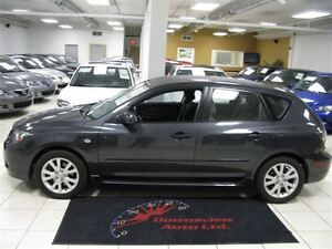 2007 Mazda MAZDA3 SPORT AUTO!!! HATCH!!! FULLY LOADED!!! ALLOYS!