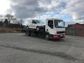 Daf Lf 45 7.5 ton 150 bhp recovery truck 2004