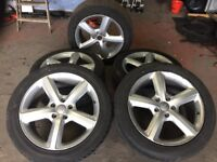 "Genuine Audi Q7 20"" Alloys & Tyres"