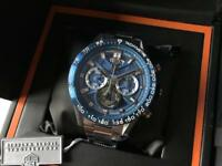 Swiss Tag Heuer Carrera Heuer 01 Chronograph Watch