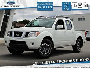 2017 Nissan Frontier PRO-4X**4X4*HITCH*CUIR*TOIT*NAVI*CAMERA**