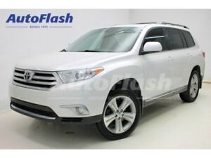 2013 Toyota Highlander Sport 3.5L * Cuir * Toit-Ouvrant * Camera