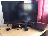 LG 26inch LCD Flat screen. Selling as moving overseas.