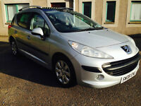 Peugeot 207 SW- 1397CC Year 2008 Perfect condition