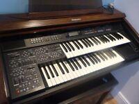Technics EX35 electric organ - fully functioning