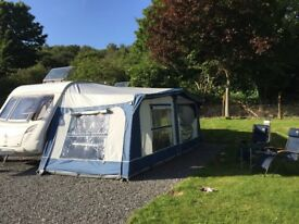 Caravan awning for sale, good condition, ideal for starting out