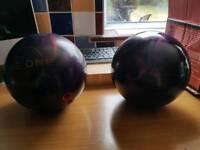 Tin pin balling balls x 2