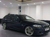 11 REG BMW 520D M SPORT ESTATE-AUTO-WIDESCREEN SATNAV-3 KEYS-PX WELCOME