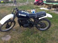 1978 Yamaha DT250MX spares or repair