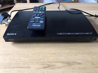 Sony Blueray DVD Player