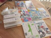 Nintendo wii games two controllers