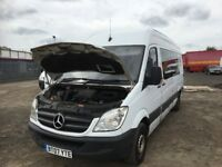 Mercedes sprinter van breaking spare parts available