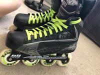 Mission Roller Hockey Skates Size 8.5