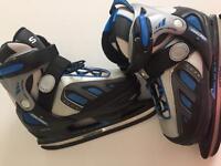 Boy Ice skates