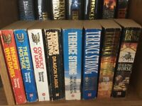 13 TERRENCE STRONG BOOKS. PAPERBACK AND HARDBACK BOOKS. SAS. SPECIAL FORCES