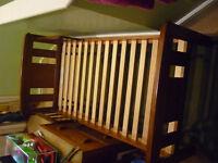 John Lewis toddler bed with mattress