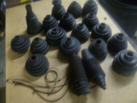 assorted c v joint boots / rack boots