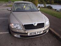 Skoda Octavia 2006, 2.0 TDi, Auto DSG, 50K Miles, FSH, Gold Metallic, Stunning / Beautiful Car!
