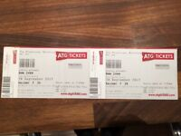 2 x Bon Iver Balcony Tickets - Thursday 28th September Edinburgh Playhouse