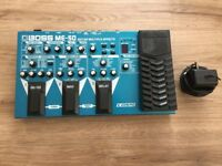 Boss ME-50 Multi Effects Guitar Pedal w/ Power Supply