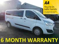 Ford, TOURNEO CUSTOM, MPV, 2015, Manual, 2198 (cc), 5 doors***12 MONTH MOT***