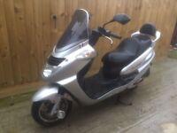 Sym joyride 200cc scooter moped 5 months mot