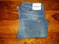 Levis 503 loose denim jeans. W30 L32