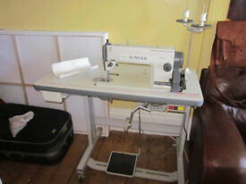 Singer Industrial Sewing Machine Model 1191 D300A Straight Stitch