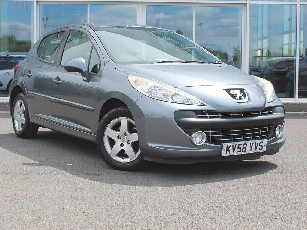 2008-58-PEUGEOT-207-14-VTi-95-SPORT-5dr-AC-ALLOYS-ONLY-63569-MILES