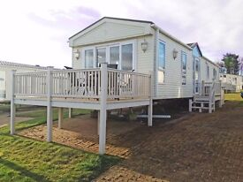 STATIC CARAVAN FOR SALE INCLUDING 2017 SITE FEES, SWARLAND, NORTHUMBERLAND