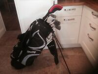 Golf clubs - matching Driver, Hybrid, Irons and Golf bag plus extras.