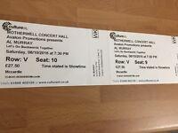 Al Murray Tickets X2