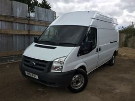 FORD TRANSIT 115 T350L RWD 2011 - HIGH TOP - MOT TILL SEPTEMBER 2017 - 6 SPEED