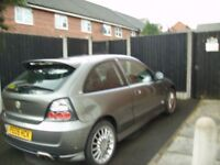 MG ROVER HATCHBACK COLOUR GREY SILVER .5.