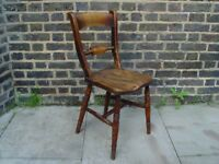 FREE DELIVERY Antique Farmhouse Chair Retro Vintage Furniture