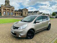 2013, Nissan Note N-Tec+, 88BHP, 69,700miles, S/Hist x6, 12 months MOT*, 5 Door, Petrol, Manual