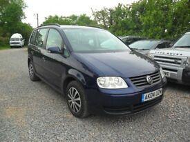 2004 VW TOURAN 2.0 TDi 'SE'--7'SEATER- NEW MOT--132K--MANUAL