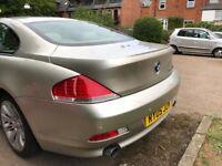 Low milage long Mot BMW 645 2004
