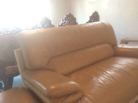 Sofa Set -leather