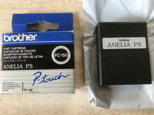 BROTHER FC-150 font Anelia PS - voor Brother PT-8e