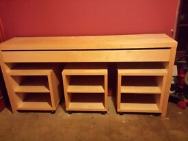 Lounge /dining unit . Beach wood can deliver