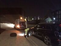 24hour mobile tyre emergency fitting services london tyres service flat punture fitter