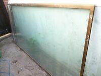 Free - Large Pieces of Glass suitable Greenhouse / Shed windows / DIY / Vivarium